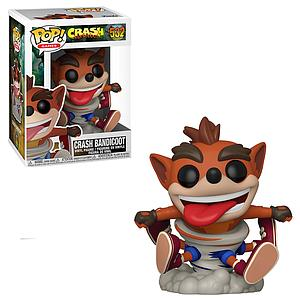 Pop! Games Crash Bandicoot Vinyl Figure Crash Bandicoot (Cyclone) #532