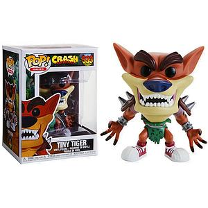 Pop! Games Crash Bandicoot Vinyl Figure Tiny Tiger #533