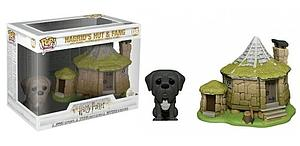 Pop! Town Harry Potter Vinyl Figure Hagrid's Hut & Fang #08