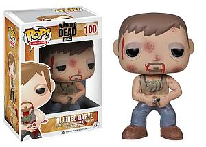 Pop! Television The Walking Dead Vinyl Figure Injured Daryl #100