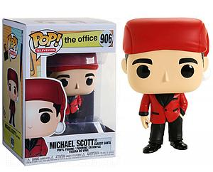 Pop! Television The Office Vinyl Figure Michael Scott as Classy Santa #906