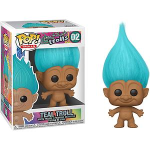 Pop! Trolls Good Luck Trolls Vinyl Figure Teal Troll #02
