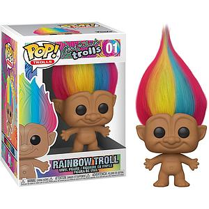 Pop! Trolls Good Luck Trolls Vinyl Figure Rainbow Troll #01