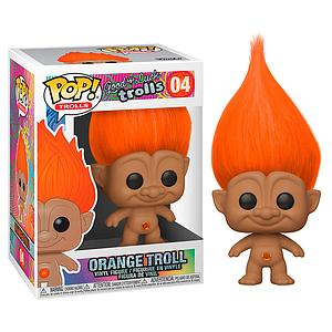 Pop! Trolls Good Luck Trolls Vinyl Figure Orange Troll #04