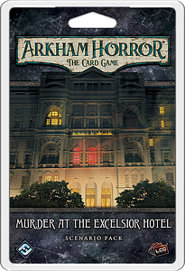 Arkham Horror: The Card Game - Murder at the Excelsior Hotel: Scenario Pack
