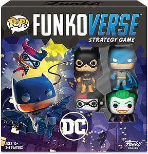 Pop! Funkoverse Strategy Game DC 4-Pack