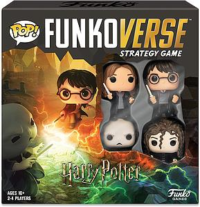 Pop! Funkoverse Strategy Game Harry Potter 100 4-Pack
