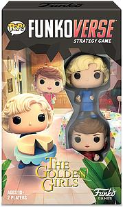 Pop! Funkoverse Strategy Game The Golden Girls 100 2-Pack