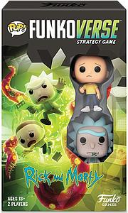Pop! Funkoverse Strategy Game Rick and Morty 100 2-Pack