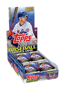 2020 MLB Baseball Series 1 Booster Box