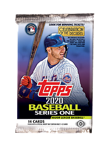 2020 MLB Baseball Series 1 Booster Pack