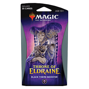 Magic the Gathering: Throne of Eldraine Theme Booster - Black