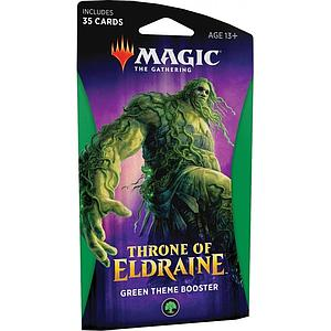 Magic the Gathering: Throne of Eldraine Theme Booster - Green