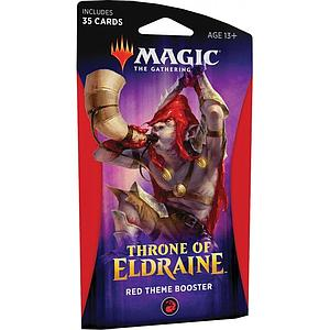 Magic the Gathering: Throne of Eldraine Theme Booster - Red