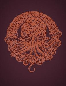 The Cthulhu Alphabet (Bronze Foil)
