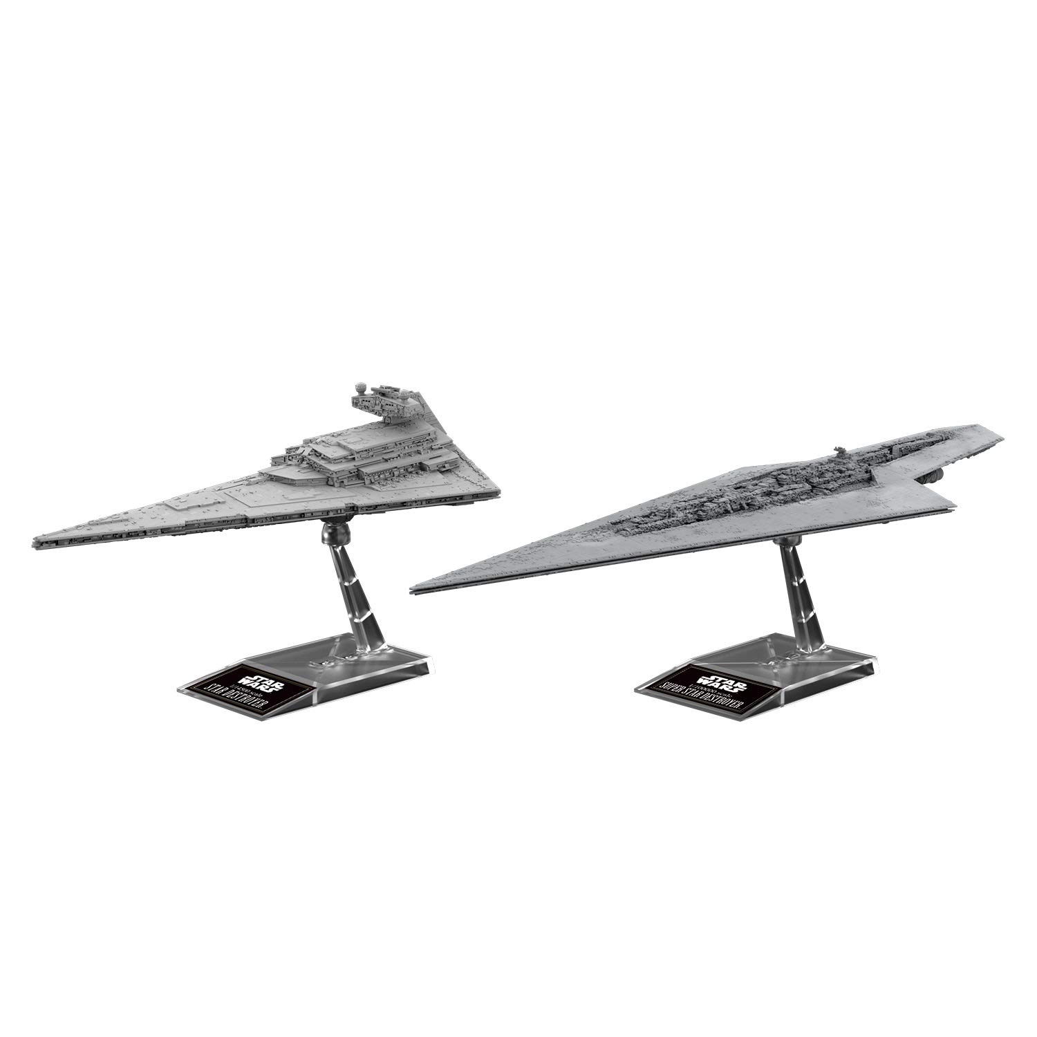 Star Wars 1/100000 & 1/14500 Scale Model Kit: Super Star Destroyer & Star Destroyer