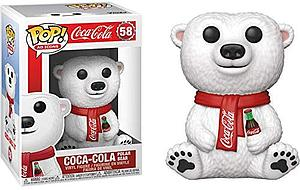 Pop! Ad Icons Coca-Cola Vinyl Figure Coca-Cola Polar Bear #58
