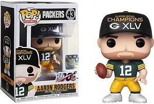 Pop! Football NFL Vinyl Figure Aaron Rodgers Super Bowl Champion XLV (Green Bay Packers)