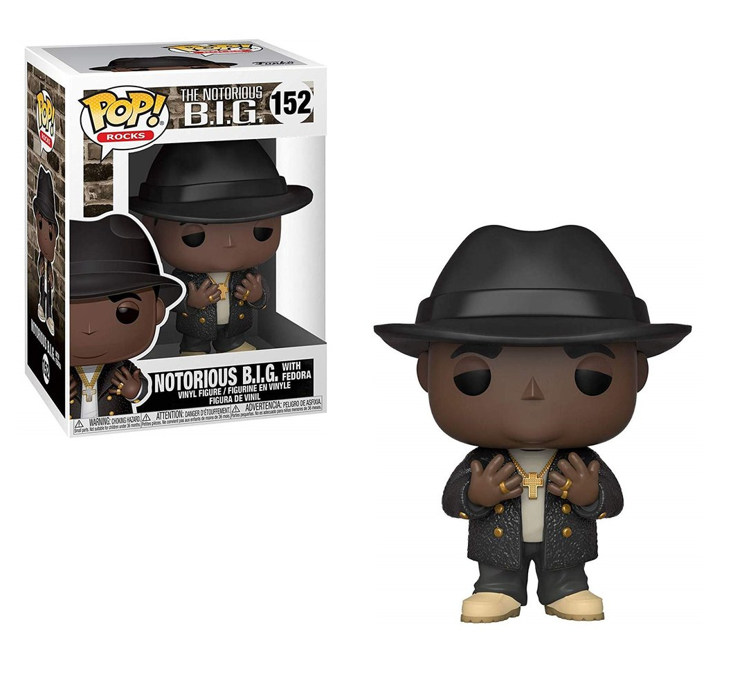 Pop! Rocks The Notorious B.I.G Vinyl Figure Notorious B.I.G. with Fedora #152