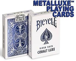 Playing Cards: Rider Back Cobalt  Luxe