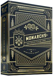 Playing Cards: Monarchs (Blue) Theory 11