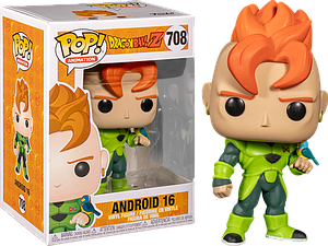 Pop! Animation Dragon Ball Z Vinyl Figure Android 16