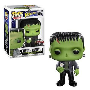 Pop! Movies Universal Monsters Vinyl Figure Frankenstein (with Flower) #607 Special Edition