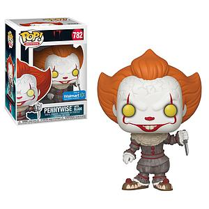 Pop! Movies IT Chapter Two Vinyl Figure Pennywise with Blade #782 Walmart Exclusive