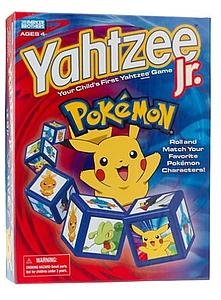 Yahtzee Junior Dice Game - Pokemon Edition