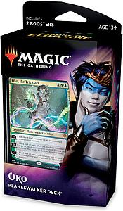 Magic the Gathering: Throne of Eldraine Planeswalker Deck - Oko, The Trickster