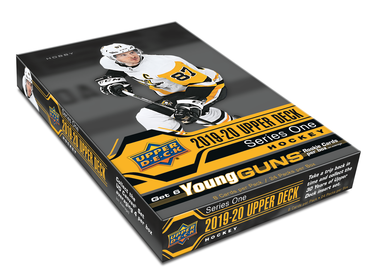 2019-20 NHL Upper Deck Series One Hockey Hobby Box