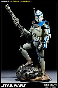 "Sideshow Collectibles Star Wars 18"" Premium Format Statue: Captain Rex"