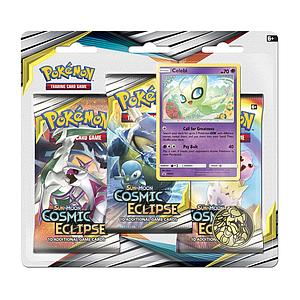 Pokemon Trading Card Game: Sun & Moon (SM12) Cosmic Eclipse 3-Pack Blister A