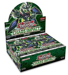 YuGiOh Trading Card Game Pack: Chaos Impact Booster Box