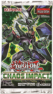 YuGiOh Trading Card Game Pack: Chaos Impact Booster Pack