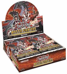 YuGiOh Trading Card Game Pack: Mystic Fighters Booster Box