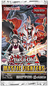 YuGiOh Trading Card Game Pack: Mystic Fighters Booster Pack
