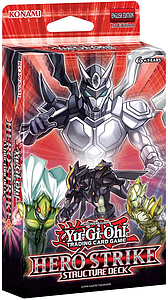 YuGiOh Trading Card Game Structure Deck: Hero Strike Unlimited