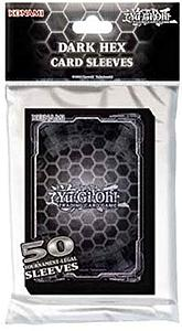 YuGiOh! Card Sleeves 50 Pack Small Size: Dark Hex