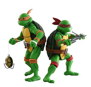 Teenage Mutant Ninja Turtles: Michelangelo & Raphael (2-Pack)