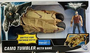 Mattel Batman The Dark Knight Rises Battle for Gotham City Vehicle: Camo Tumbler and Bane