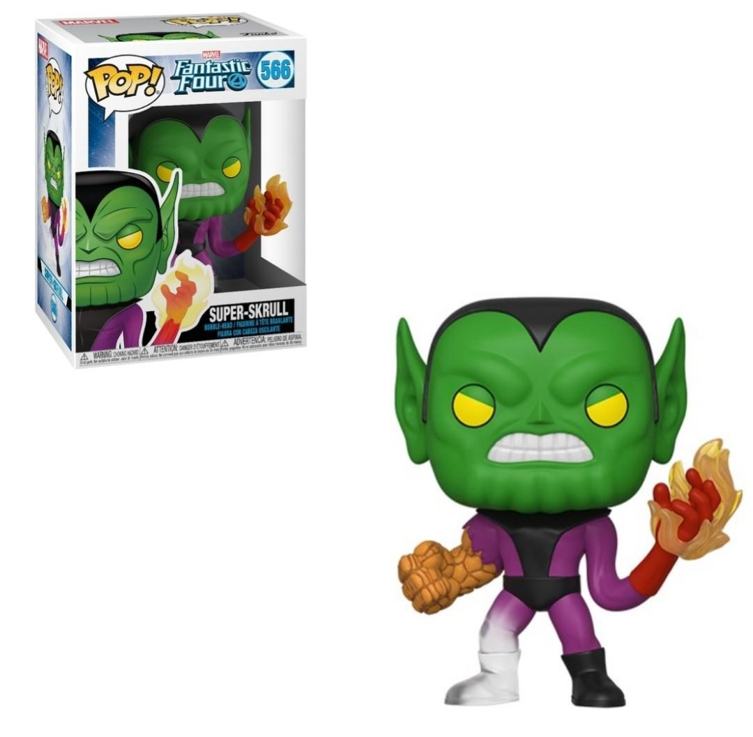 Pop! Marvel Fantastic Four Vinyl Bobble-Head Super-Skrull #566