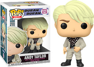 Pop! Rocks Duran Duran Vinyl Figure Andy Taylor #127