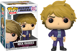 Pop! Rocks Duran Duran Vinyl Figure Nick Rhodes #129