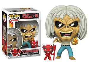 "Pop! Rocks Iron Maiden Vinyl Figure ""The Number of the Beast Eddie"" #145"