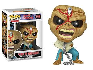 "Pop! Rocks Iron Maiden Vinyl Figure ""Piece of Mind Eddie"" #146"