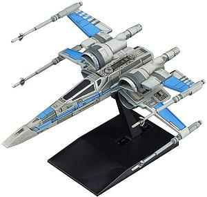Star Wars Vehicle Model Kit: #011 Blue Squadron Resistance X-Wing Fighter
