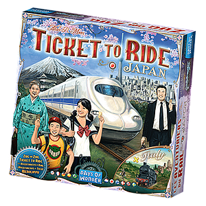 Ticket to Ride Map Collection: Volume 7 - Japan + Italy