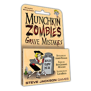 Munchkin: Munchkin Zombies - Grave Mistakes