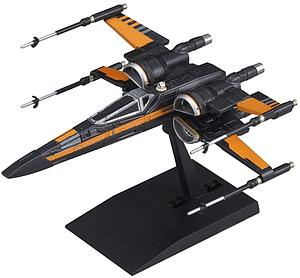 Star Wars Vehicle Model Kit: #003 Poe's X-Wing Fighter